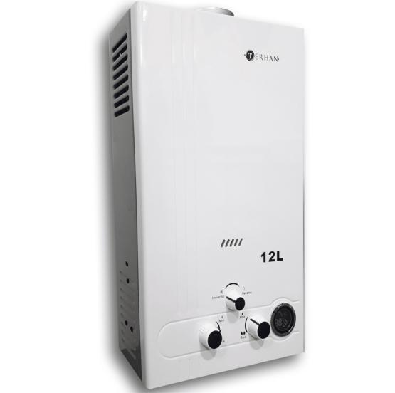 Calentador de agua instantáneo a supergas 12 litros por minuto 1