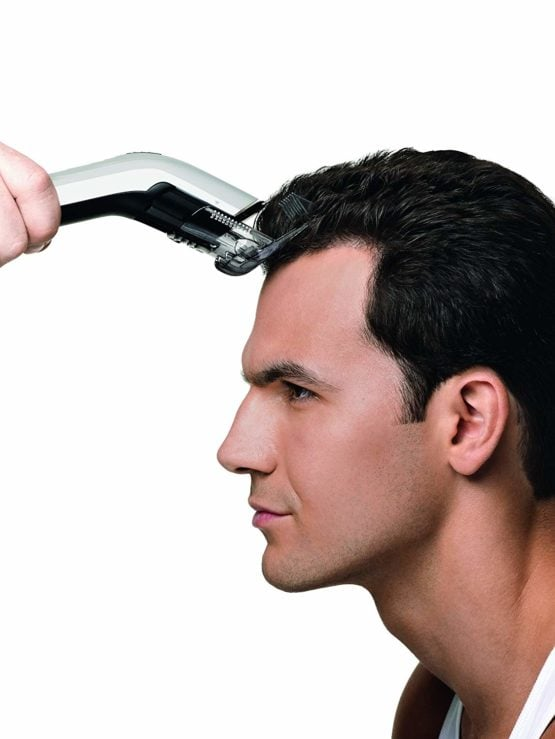 Corta cabellos Recargable Philips con 11 posiciones, peine ajustable y uso con o sin cable 10
