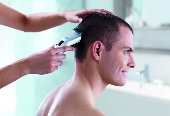 Corta cabellos Recargable Philips con 11 posiciones, peine ajustable y uso con o sin cable 11