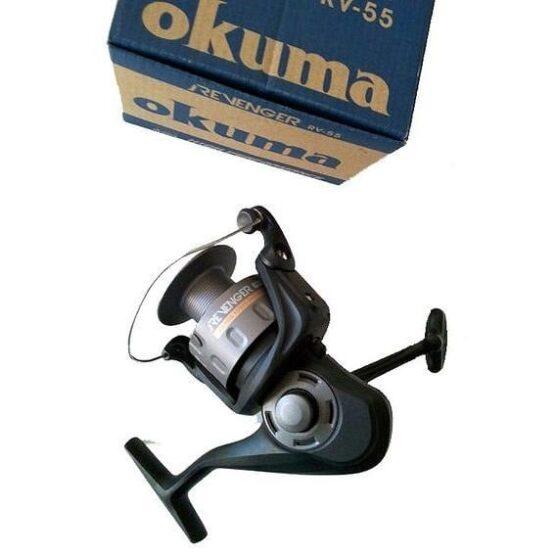 REEL FRONTAL OKUMA REVENGER 55 RUL-REL:4.5:1-CAP:210MX0.40MM 4