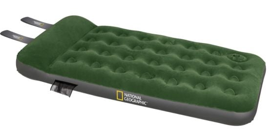 COLCHON INFLABLE NATIONAL GEOGRAPHIC CON INFLADOR 1 1/2 PLAZAS 1