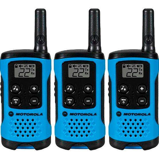 3 Walkie Talkies MOTOROLA Talkabout® T100MC/T100TMC - RADIO 2 VÍAS 1