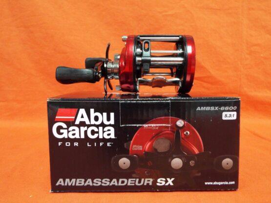 REEL ABU GARCIA® AMBASSADEUR® SX ROUND 6600 3