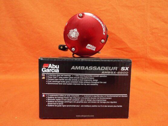 REEL ABU GARCIA® AMBASSADEUR® SX ROUND 6600 4