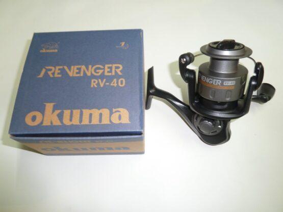 REEL FRONTAL OKUMA REVENGER40 1RUL-REL:4.5:1-CAP:200MX0.30M 2