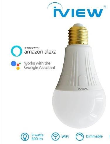 Bombita de Luz LED 9W Wifi Inteligente IVIEW SMART 2