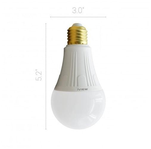 Bombita de Luz LED 9W Wifi Inteligente IVIEW SMART 3