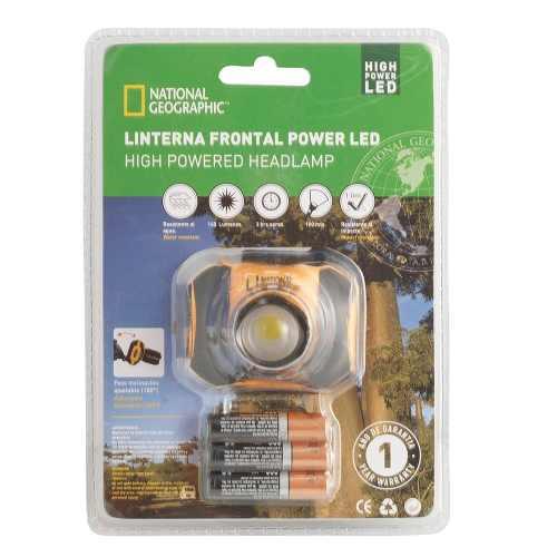 LINTERNA DE CABEZA National Geographic - POWER LED 3