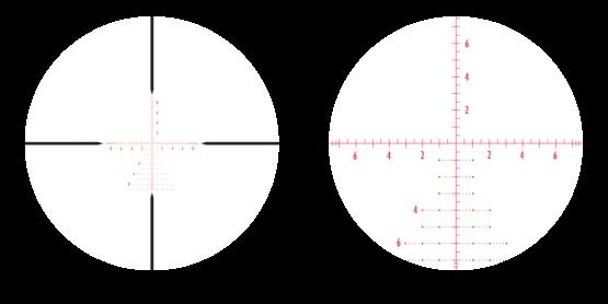 Mira Telescopica Athlon Argos BTR 6-24×50 APMR FFP IR MIL 2