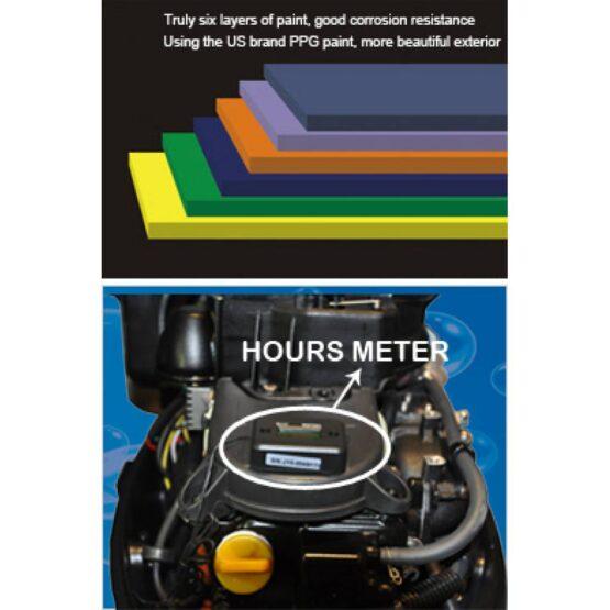 Motor Fuera de Borda HIDEA 15HP 4 Tiempos Pata Corta 6