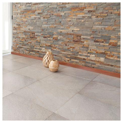 Revestimiento piedra Oxido 60 x 15 cm 0,63 m2 Kastelo 1