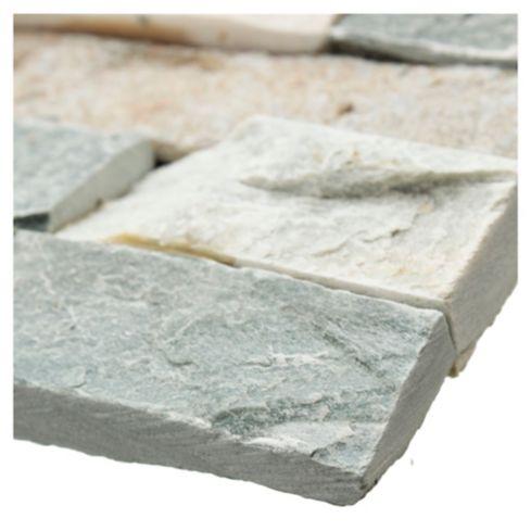 Revestimiento piedra Oxido 60 x 15 cm 0,63 m2 Kastelo 3