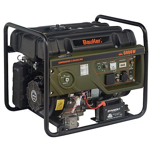 Generador eléctrico a Gasolina 6000W 8,0 hp Bauker 2