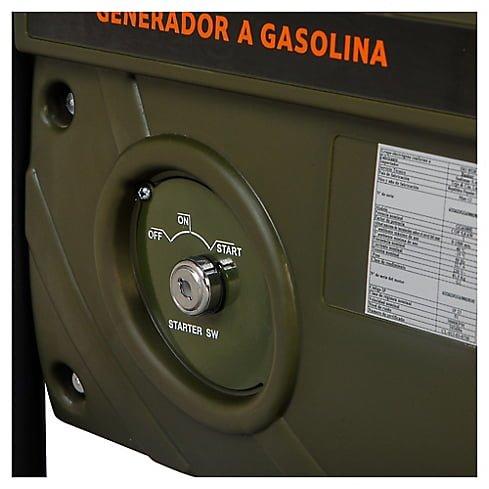 Generador eléctrico a Gasolina 6000W 8,0 hp Bauker 8