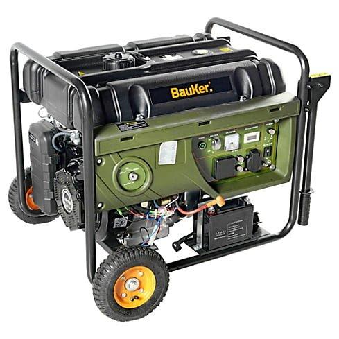 Generador eléctrico a Gasolina 6000W 8,0 hp Bauker 1