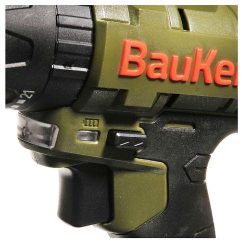Set taladro atornillador 12 v con 29 piezas Bauker 6