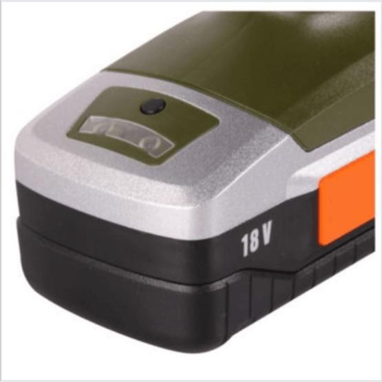 Taladro con percutor inalámbrico 18 v batería litio Bauker 2