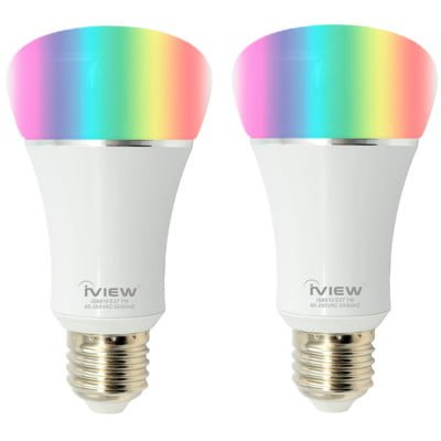 IVIEW - PACK X2 BOMBITA SMART LIGHT BULB ISB610 1