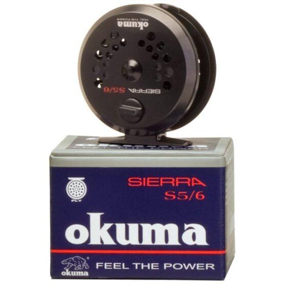 REEL OKUMA MOSCA SIERRA 5/6 1BB - CUERPO DE ALUMINIO 3