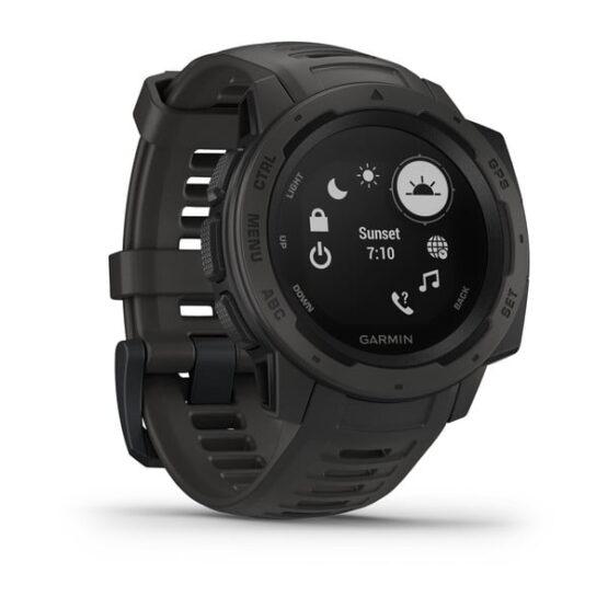 Reloj Garmin Instinct el mejor para Actividades al Aire Libre 7