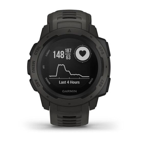 Reloj Garmin Instinct el mejor para Actividades al Aire Libre 2