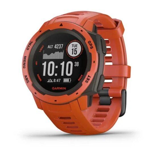 Reloj Garmin Instinct el mejor para Actividades al Aire Libre 11
