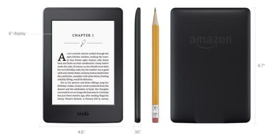 "Amazon - Kindle Paperwhite Lector electrónico de 6""de alta resolución 7"