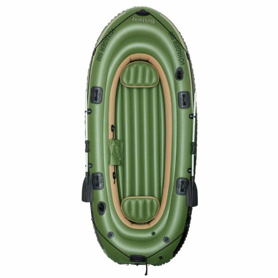 BOTE INFLABLE Hydro-Force™ VOYAGER 500 BESTWAY para 3 personas 3