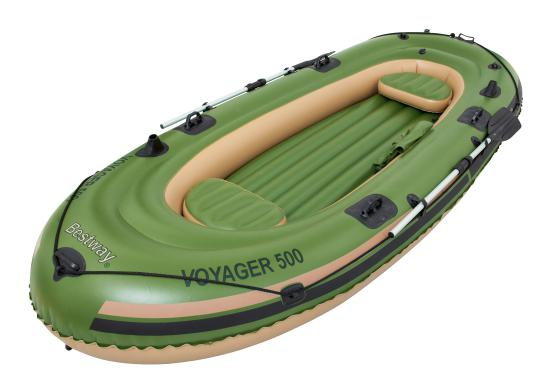 BOTE INFLABLE Hydro-Force™ VOYAGER 500 BESTWAY para 3 personas 2