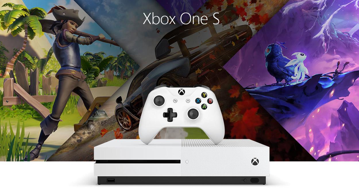 Consola Xbox One S + 1 Juego / 1TB 9