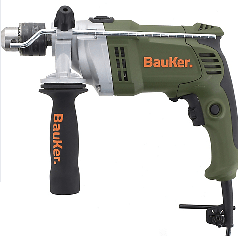 Taladro Percutor Electrico 13 mm 900 W Bauker 1
