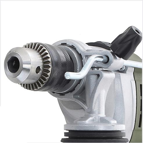 Taladro Percutor Electrico 13 mm 900 W Bauker 7