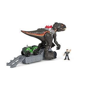 Imaginext Jurassic World Indorraptor Motorizado Fisher Price 6