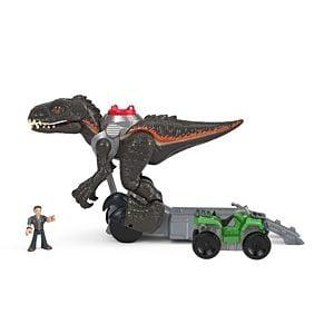 Imaginext Jurassic World Indorraptor Motorizado Fisher Price 5