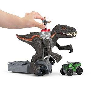 Imaginext Jurassic World Indorraptor Motorizado Fisher Price 7