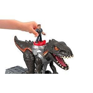Imaginext Jurassic World Indorraptor Motorizado Fisher Price 8