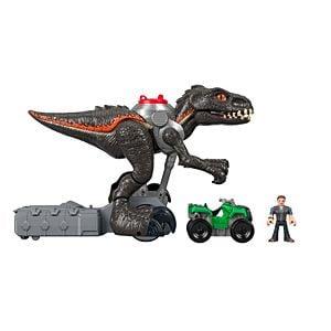 Imaginext Jurassic World Indorraptor Motorizado Fisher Price 3