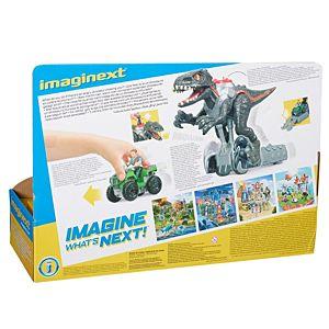 Imaginext Jurassic World Indorraptor Motorizado Fisher Price 10