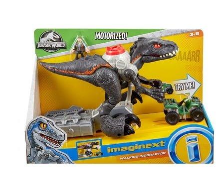 Imaginext Jurassic World Indorraptor Motorizado Fisher Price 9