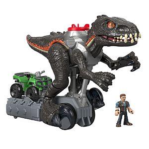 Imaginext Jurassic World Indorraptor Motorizado Fisher Price 1