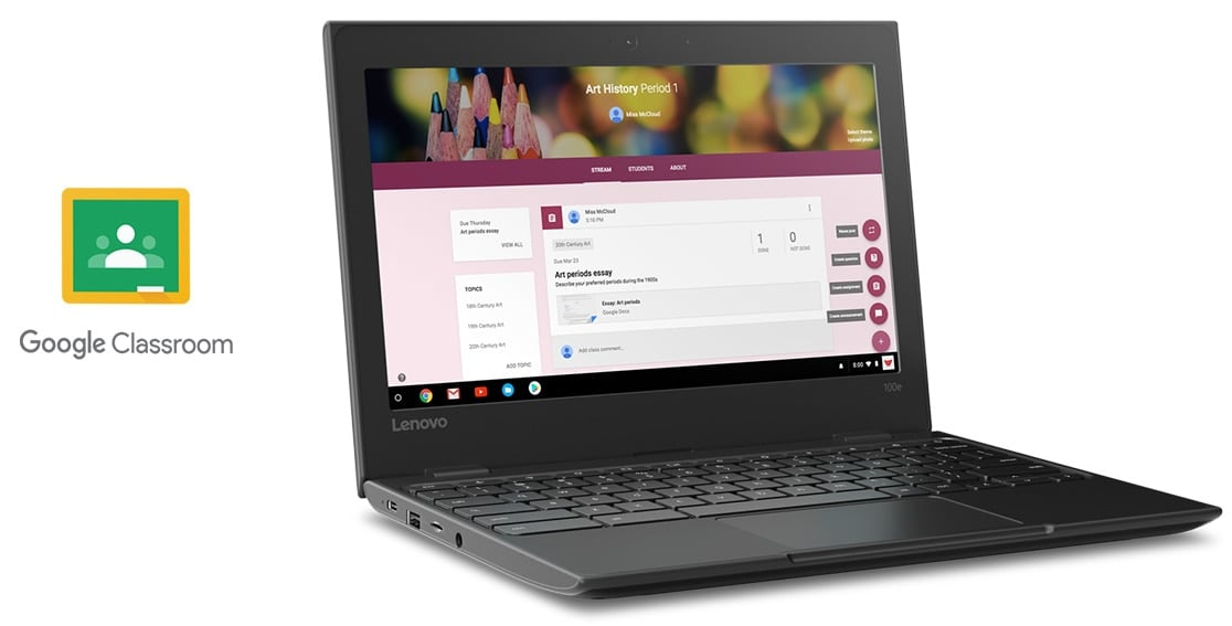 LENOVO 100E CHROMEBOOK N3350/4GB/32GB SSD/CHROME/1CI 26