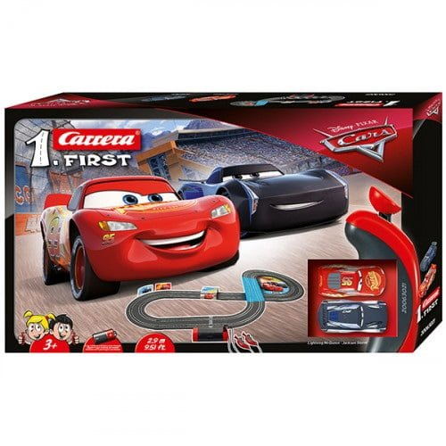 Pista de Carrera Electrica First Disney Pixar Cars 2,9 metros 1