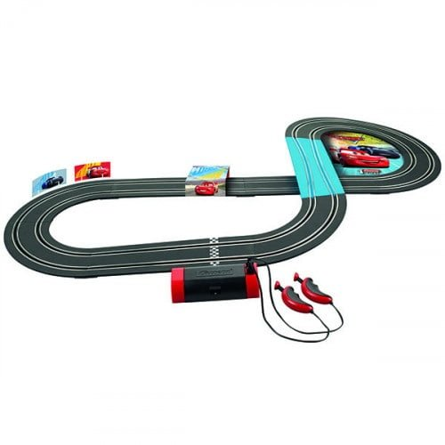 Pista de Carrera Electrica First Disney Pixar Cars 2,9 metros 2