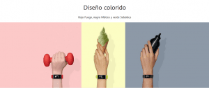 RELOJ INTELIGENTE HUAWEI COLOR BAND A2 16