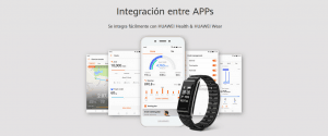 RELOJ INTELIGENTE HUAWEI COLOR BAND A2 20