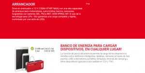 Arrancador Multifuncion Drive 9000 12V 9000mAh 829565 Telwin 16