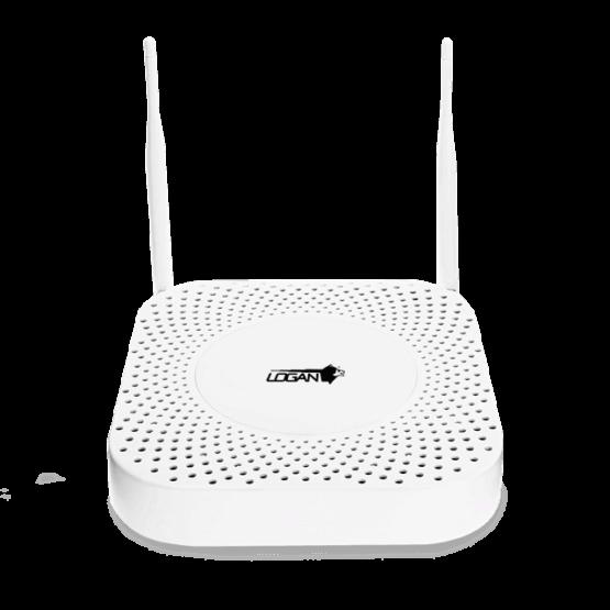KIT LOGAN WIFI NVR DE 4 CH + 4 CAMARAS BULLET HD 720P IP 66 + DISCO 2TB 3