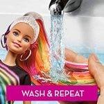 Muñeca Barbie® Peinados de Arco Iris Brillante 30
