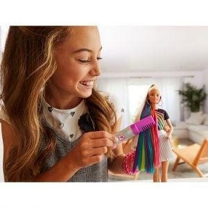 Muñeca Barbie® Peinados de Arco Iris Brillante 27