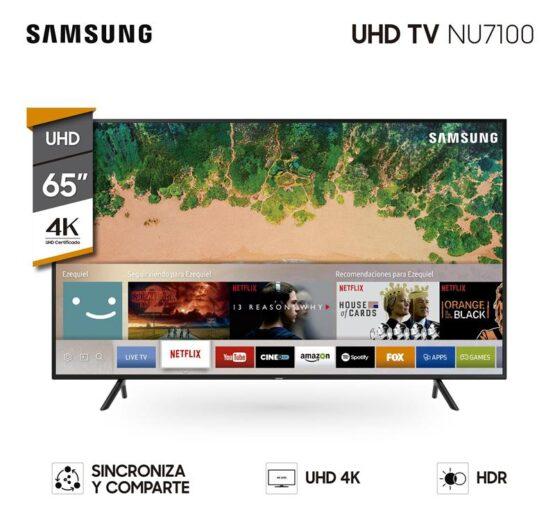 "TELEVISOR LED SMART TV SAMSUNG 65"" UHD 4K 1"